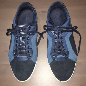 ZARA for men sz 8 Blue suede sneakers